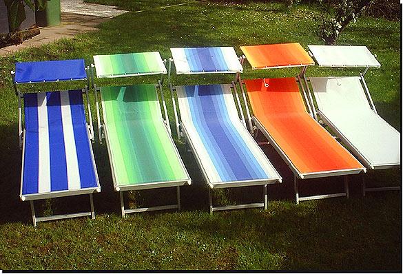 Strandliege mit dach  Sonnenliegen.at - Strand- und Gartenmöbel